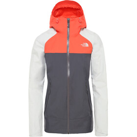 The North Face Stratos Veste Femme, vanadis grey/tin grey/radiant orange